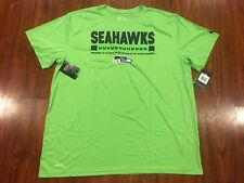 Nike Men's Seattle Seahawks Sideline Legend Staff Green Jersey Shirt XXL 2XL NFL
