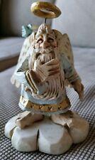 Vintage Coyne's David Frykman-The Oldest Angel Figurine Blue Bird #Df3105 1995