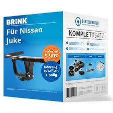 Anhängerkupplung abnehmbar Für Nissan Juke 2WD ab10 7-pol E-Satz