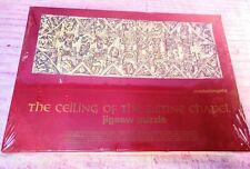 1967 Jigsaw Puzzle Michelangelo Ceiling of the Sistine Chapel 1080 Pieces SEALED