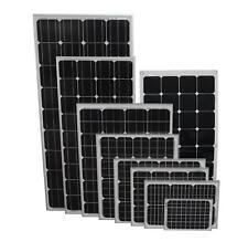 Paneles Solares De Calidad Premium Pv photo-voltaic Panel Mc4 Conectores Embarcaciones Caravanas