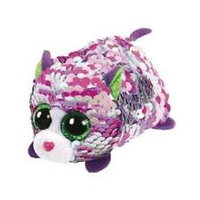 Ty 42408 Lilac Cat Flippable Teeny Multicolored