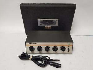 Shure Prologue 200M 4 Channel Microphone Mixer *Please Read*