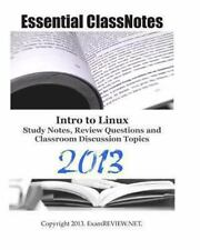 Essential ClassNotes Intro to Linux Study Notes, Review Questions and...