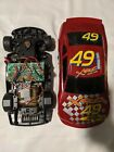 Vintage XRC Kenner Tonka Pro Speed R/C Red #49 Car 1/14 1997 remote control
