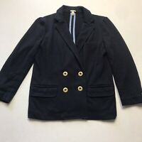 J. Crew Dark Blue School Blazer Jacket Size XS A281