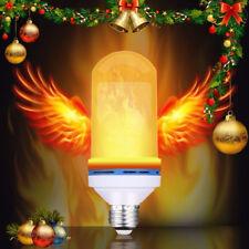 E27 6W 3 Models LED Flame Effect Simulated Nature Fire Light Bulbs Decor Lamp