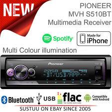 Pioneer Radio de Coche │1DIN Mechless Radio │ Media Player │ Bluetooth │ USB │