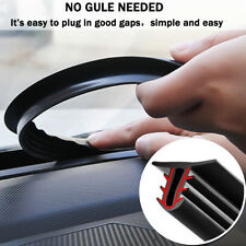 AU 160cm Universal Car Dashboard Sealing Strips Styling Stickers Gap +Press Tool