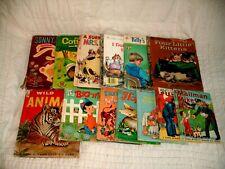 Little Golden Books, Elf Books, Wonder Books Etc. Vintage Children's Books Lot o