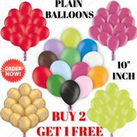 "PLAIN BALOONS 30 X 10""inc BALLONS helium BALLOONS Party Quality Birthday Wedding"