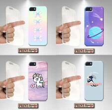 Cover per,Samsung,GALASSIA,pianeti,silicone,morbido,divertente,tumblr,arcobaleno