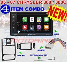05 06 07 CHRYSLER 300 300C SOUNDSTREAM APPLE CAR PLAY VRCP-65 DOUBLE DIN RADIO