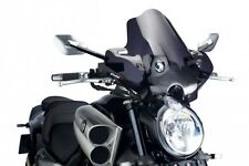 Puig Naked New Generation Windscreen 09-15 Yamaha VMX1700 V-Max Dark Smoke 4952F