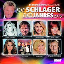 BERNHARD BRINK: DIE SCHLAGER DES JAHRES 2015 2 CD NEU