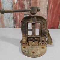Vintage Erie Tool Works Pipe Vise No.1-H