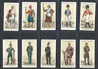 PLAYER - UNIFORMS OF THE TERRITORIAL ARMY - FULL SET OF 50 CARDS