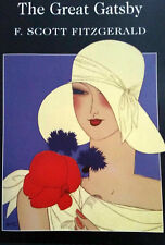 "gatsby art deco lady hat art painting poster for glass frame 36"" 1920"