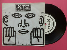 XTC - Senses Working Overtime / Blame The Weather / Tissue Tigers, Virgin VS-462
