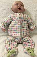 Paradise Galleries Sleepy Frog Yawning Reborn Baby Doll Michelle Fagan