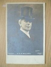Postcard- Theater Actors MR E S WILLARD, No.1186