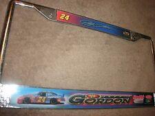 Du Pont Motorsports Nascar License Plate Frame Jeff Gordon #24