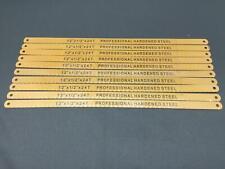 10x Metallsägeblätter, Metallsägeblatt, Handsägeblatt, Eisensäge 300mm, 30cm