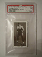 1938 TOMMY FARR BOXING CHURCHMAN PSA GRADED 7 NEAR - MINT CARD