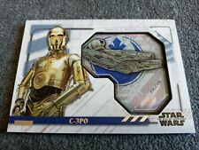 2020 TOPPS STAR WARS THE RISE OF SKYWALKER SERIES 2,C-3PO VEHICLE#MVM-CF