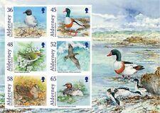 BIRDS 2011 ALDERNEY (GUERNSEY) Sc#408a S/SHEET FINE MNH