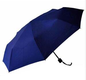 Light Weight Anti-UV Rain Sun Windproof Manual Umbrella - BLUE
