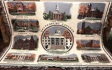Gettysburg College Pennsylvania Large 68 x 50 Throw Blanket