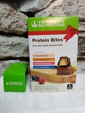 Herbalife Protein Bites Variety Pack 28 delicious bites fruity, high protein