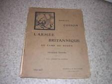 1915.armée britannique au camp de Rouen / Marcel Cosson.20/20 planches