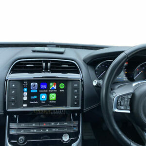 Wireless Apple CarPlay and Android Auto upgrade for Jaguar XE XF F-PACE 15-18