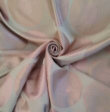 22 Metres Old Rose Laura Ashley Retro Disk Design Sateen Brocade Curtain Fabric