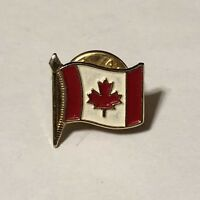 Canadian Flag Maple Leaf Canada Lapel Pin Button