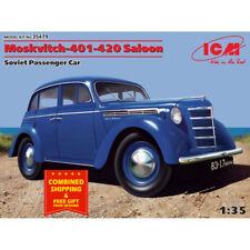 MOSKVITCH-401-420 SALOON, SOVIET PASSENGER CAR 1/35, plastic model kit ICM 35479