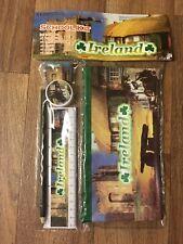 Ireland School Kit; Pencil Case, Pencil, Eraser, Sharpener & Ruler