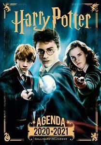 Agenda Harry Potter 2020-2021 — Gallimard Jeunesse