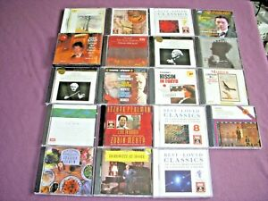 Lot of 20  Classical Music CD's Mint