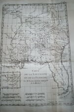 CARTE ANCIENNE LOUISIANE FLORIDE RIGOBERT BONNE 1788 (R1194) MAP
