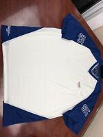 ".Tommy Hilfiger Mens Vintage ""85""Jersey Shirt Multiple Logos Spell out Vneck XL"