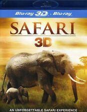 Safari 3D (Blu-ray 3D + Blu-Ray) [Region A and B and C] [DVD][Region 2]