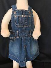 Babygap baby girl's denim dress 3-6 Months