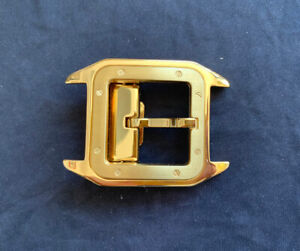 Cartier Belt Buckle - Stainless Steel Gold Finish
