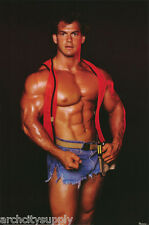 POSTER: BODY BUILDER  - SEXY MALE MODEL - FREE SHIPPING ! #26743  RW23 H