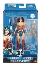 Dc Multiverse Wonder Woman Figure Lex Luthor Baf! Moc!