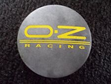 OZ Racing gray aftermarket custom wheel center M582