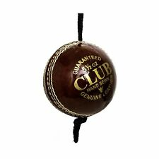 Pro Impact Cricket Balls Leather Training with Cord (1 Ball)